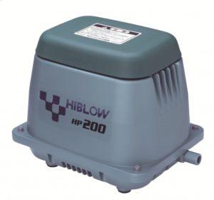 air pump hiblow hp200 ไฮโบว์ แอร์ปั๊ม ปั๊มเติมอากาศ เครื่องเติมอากาศ