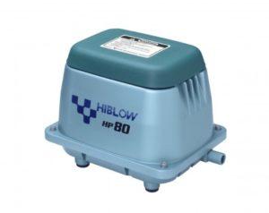 air pump hiblow hp80 ไฮโบว์ แอร์ปั๊ม ปั๊มเติมอากาศ เครื่องเติมอากาศ